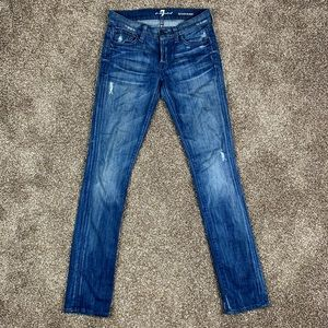7 For All Mankind 24 x 31 Roxanne Skinny Jeans
